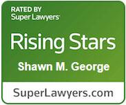 Shawn George - Super Lawyers Award 2021