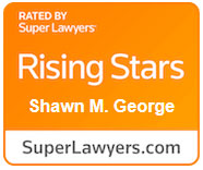 Shawn George - Super Lawyers Award 2021